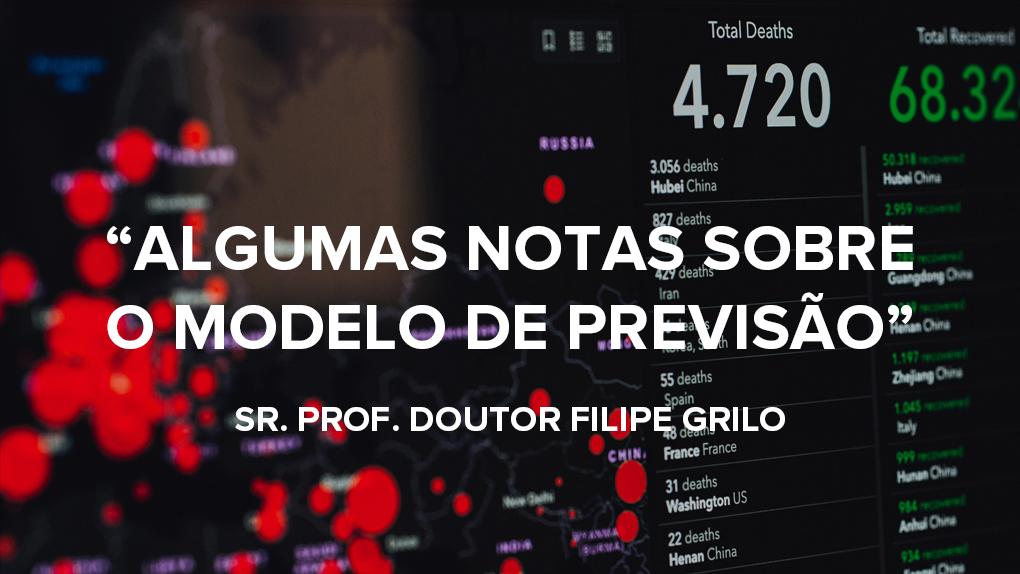 """""""Algumas notas sobre o modelo de previsão"""" @COVID19 2"""